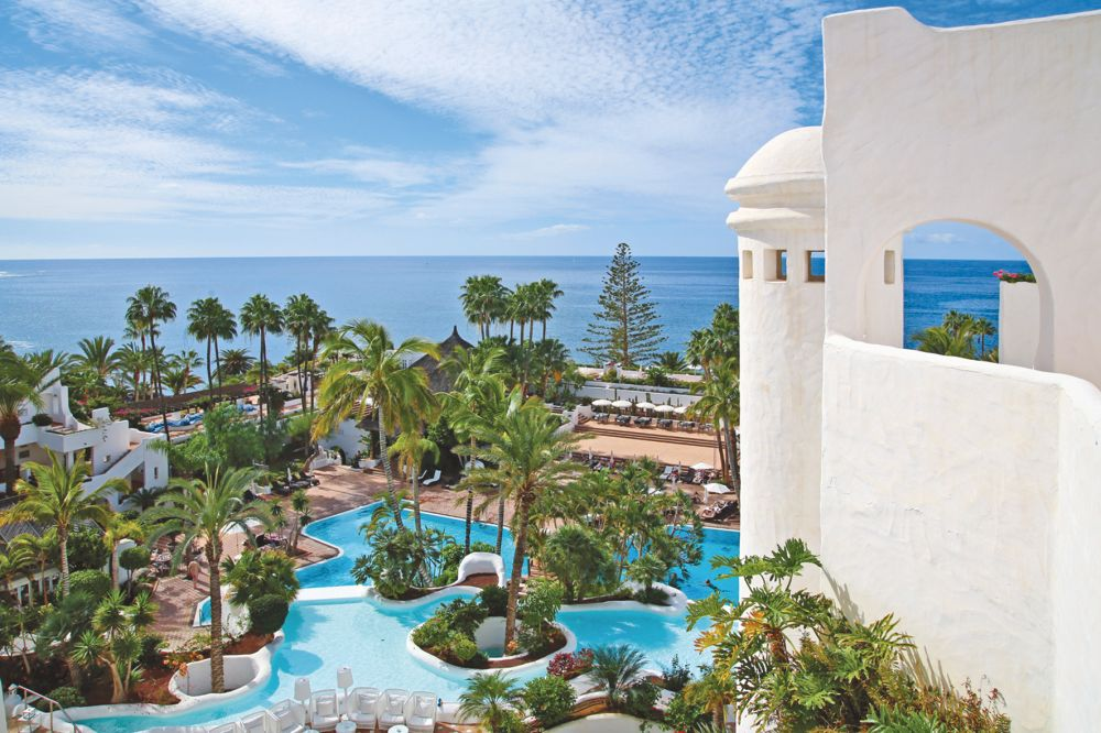 Jardin Tropical hotel, Costa Adeje, Tenerife